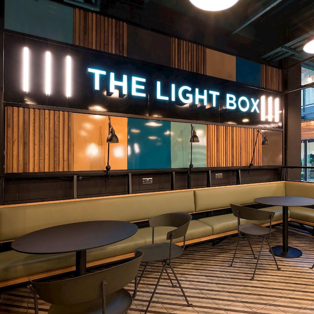 Club Workspace The Light Box | Collins Construction